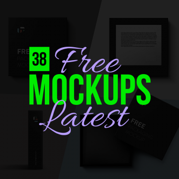 38 Latest Mind Blowing (Free to Use) Mockup Templates