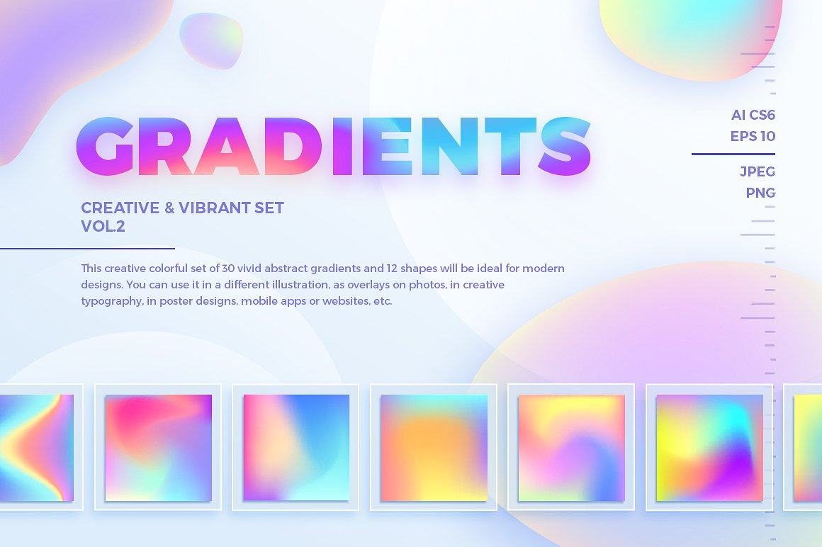 20+ Colorful Gradient Backgrounds You'll Want to Own ...