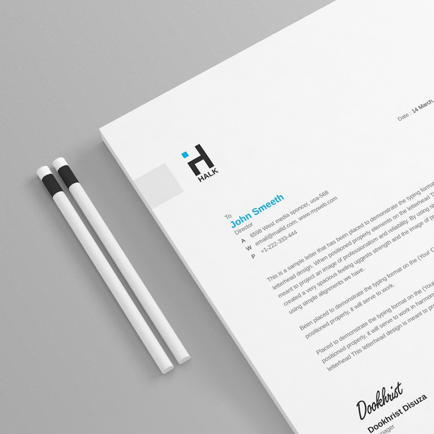 30+ Clean & Professional Letterhead Templates for All Kind of Business