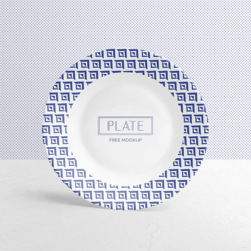 15+ Cool Plate Mockup Templates for Design Presentation