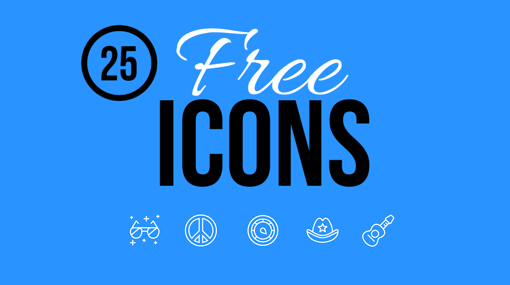 25 Latest Free Icons for Spectacular Design