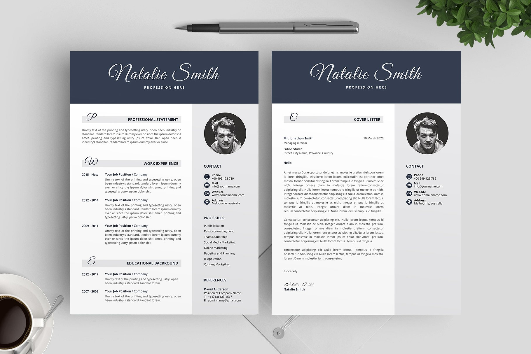 30  clean and modern cv    resume templates