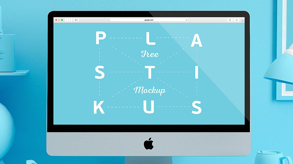 25+ Stunning Apple iMac Mockup Templates PSD