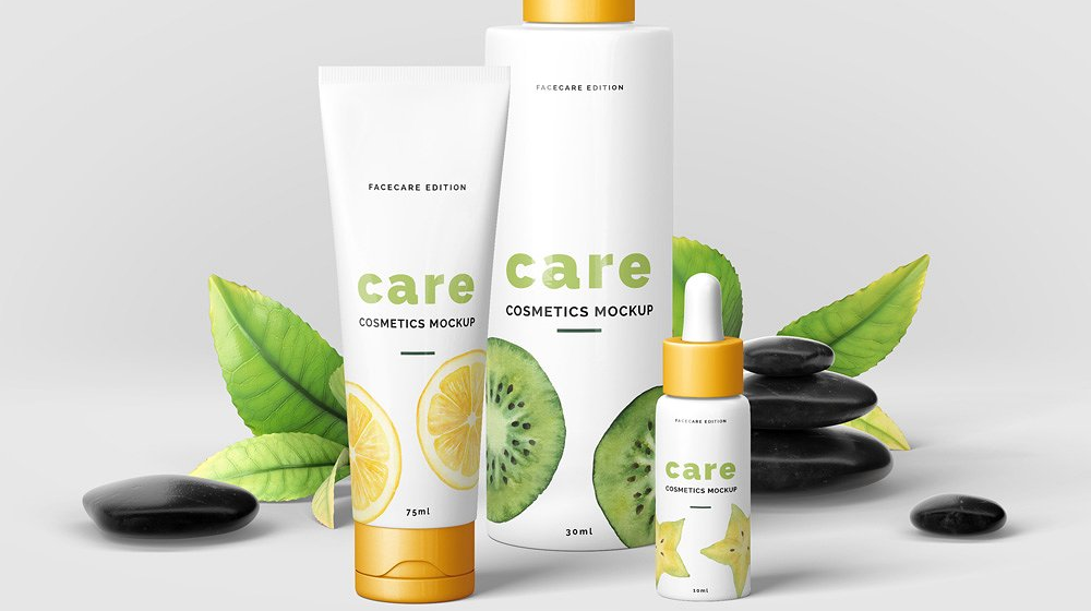45+ Outstanding Cosmetic Branding & Packaging Mockup Templates