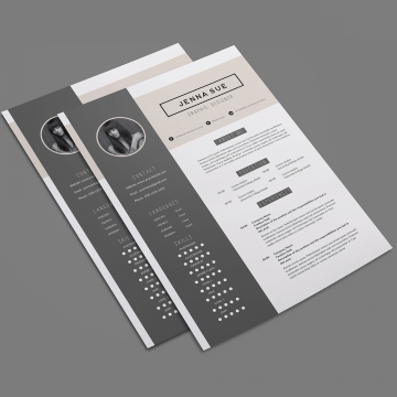 30+ Clean and Modern CV / Resume Templates
