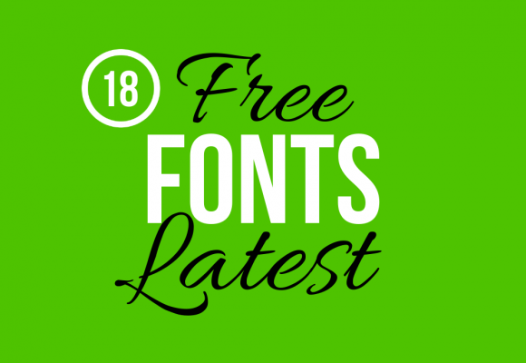 18 Latest Outstanding Free Fonts for Typography Projects