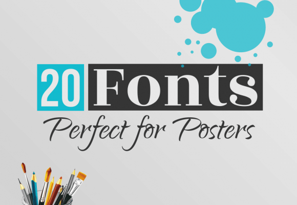 20+ Best Fonts Perfect for Posters