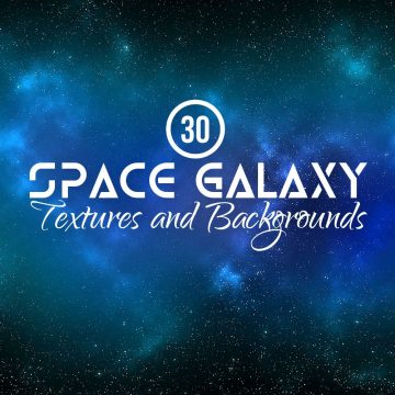 30+ Space, Galaxy, Nebula Textures and Backgrounds Collection