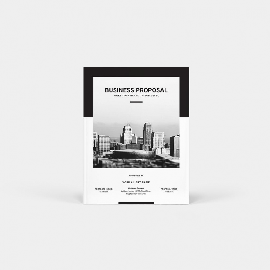 30+ Modern Business Proposal Brochure Templates