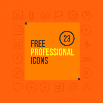 23 Latest Free Icons for Professional Design