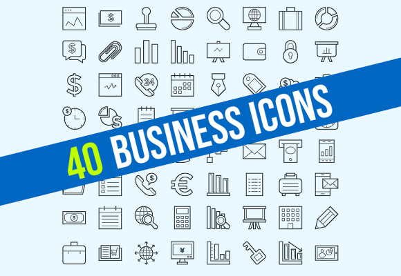 40+ Best Business & Finance Icons for Outstanding Design