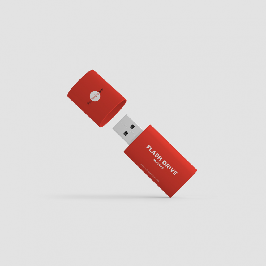 10+ Flash Drive USB Mockup Templates PSD
