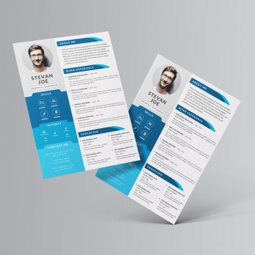 30+ Free Creative Resume Templates PSD