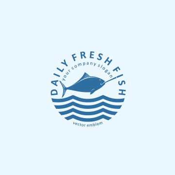 30+ Awesome Logo Templates for Fish Restaurant