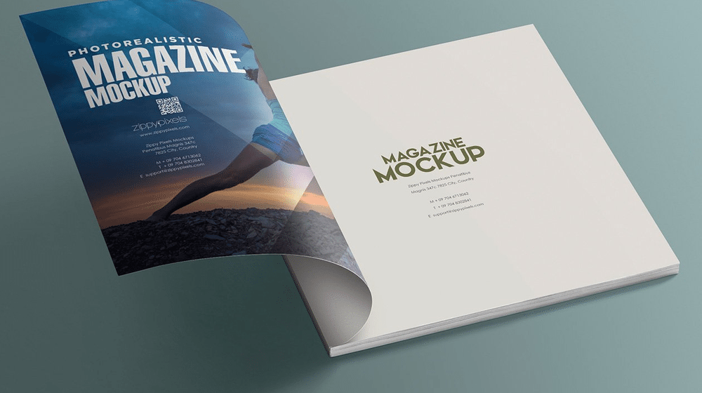 40+ Best Magazine Mockup Templates for Creative Presentation