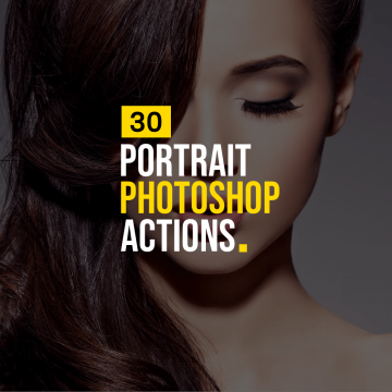30+ Photoshop Actions to Enhance Portrait Photos