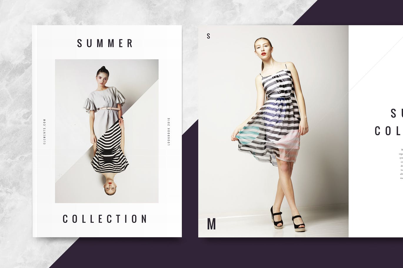 30 Eye Catching Lookbook And Catalog Template Designs Creativebonito Com