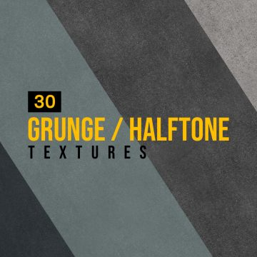 30+ Outstanding Grunge and Halftone Textures