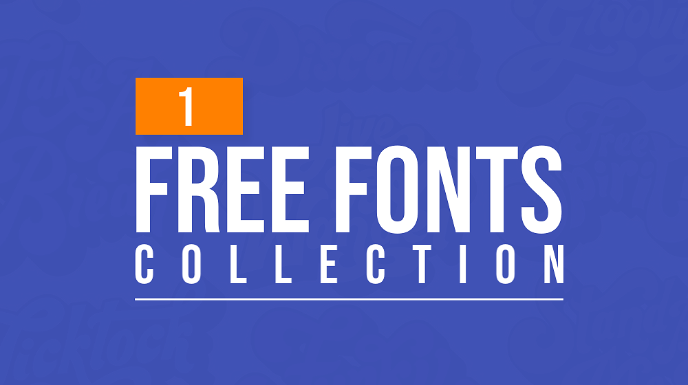 Latest Free Fonts Collection | 1