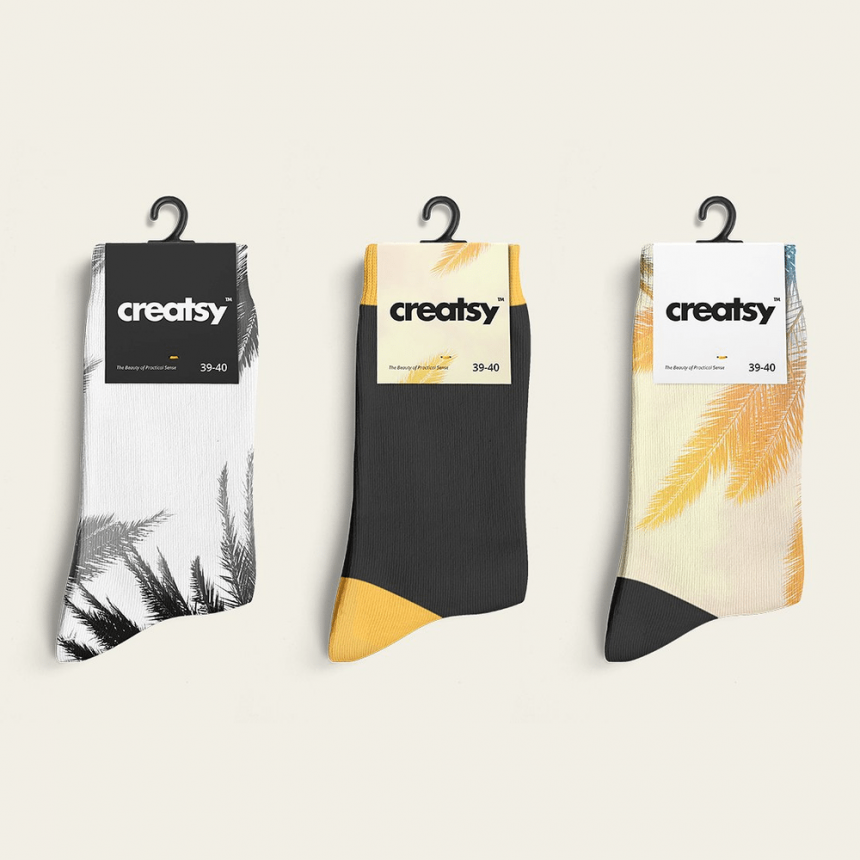 25+ Amazing Socks Mockup Templates PSD