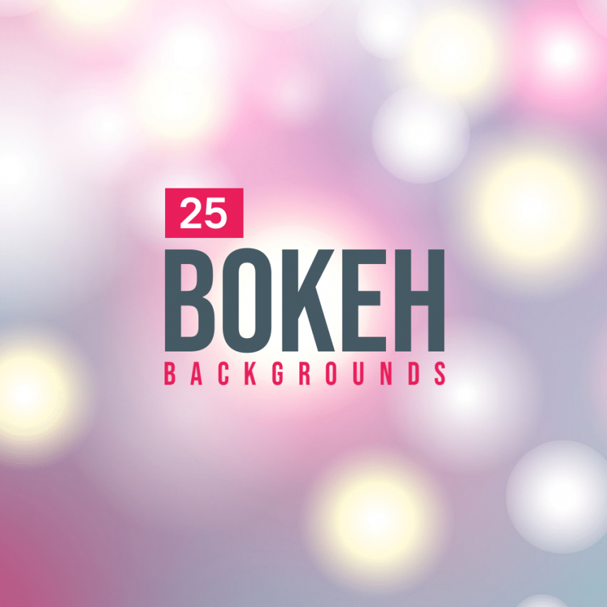 25+ Nice Bokeh Backgrounds for Your Design