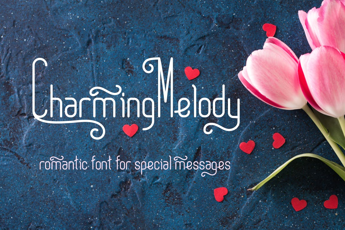 30+ Charming Romantic Fonts to Show Your Love