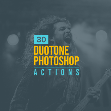 30+ Outstanding Duotone Photoshop Actions