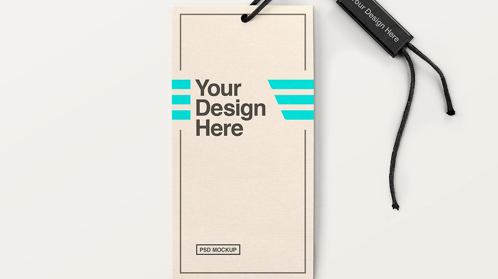 30+ Remarkable Label / Tag Mockup Templates