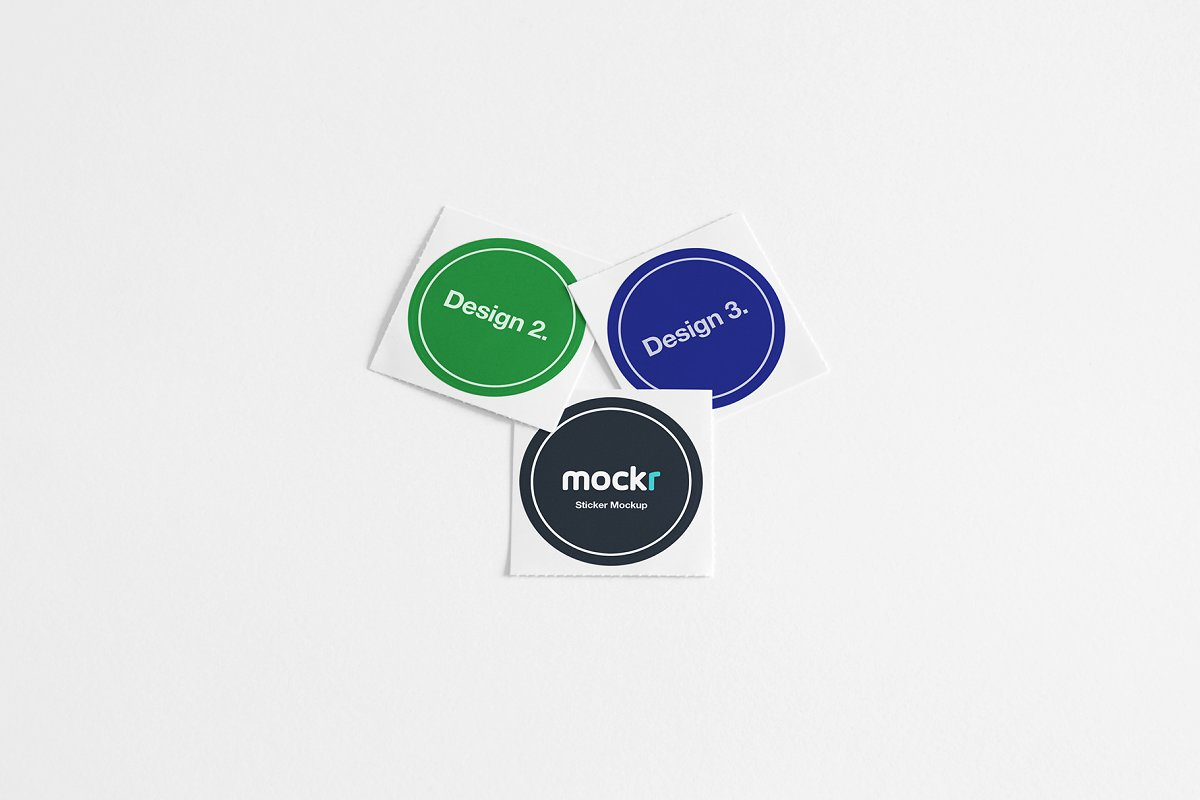 When you purchase the sticker mockup you get a well organised and fully layered photoshop document that allows you to easily change text