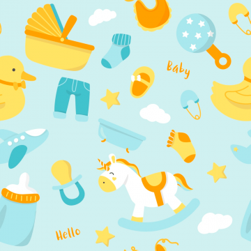 25+ Super Cute Baby Patterns