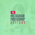 15+ Best Instagram Photoshop Actions