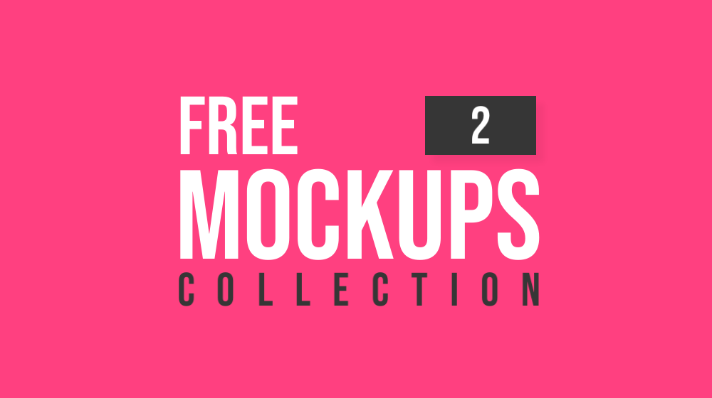 Latest Free Mockup Templates Collection | 2
