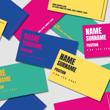 30+ Creative Business Cards Ready to Print