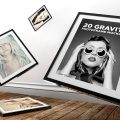 45+ Realistic and Decorative Frame Mockup Templates