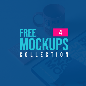 Latest Free Mockup Templates Collection | 4