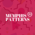 20+ Eye-Catching Memphis Style Patterns