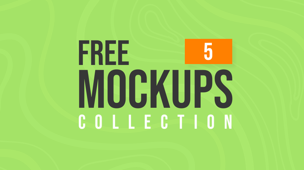 Latest Free Mockup Templates Collection | 5