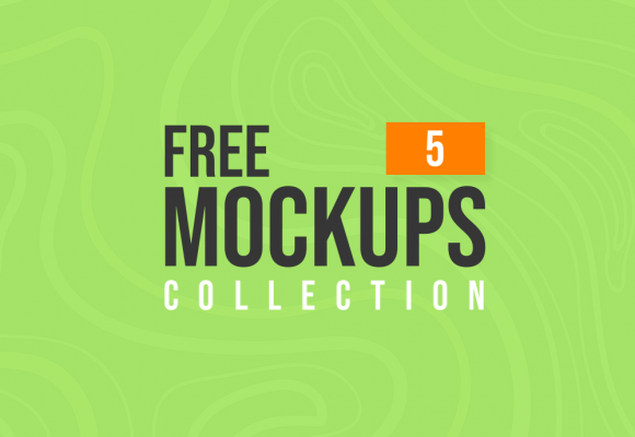 Latest Free Mockup Templates Collection   5