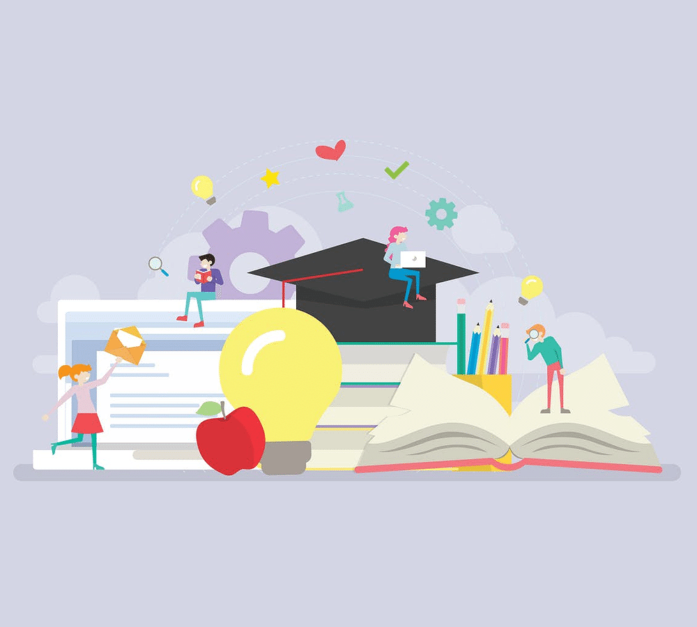 20+ Learning / Education Illustration Concept Templates