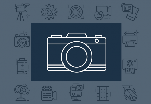 25+ Beautiful Photography Icon Packs for Designers