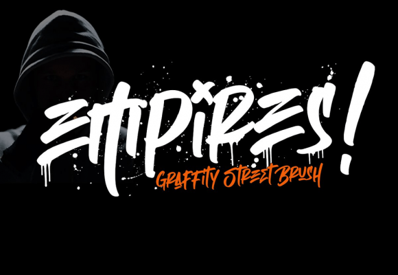 25+ Handmade Graffiti Fonts for Spectacular Design