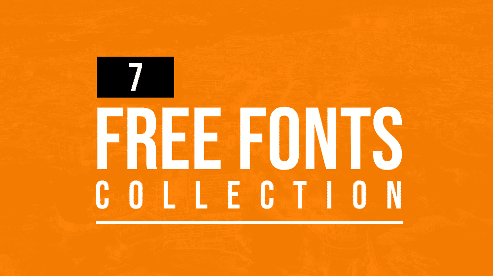 Latest Free Fonts Collection | 7