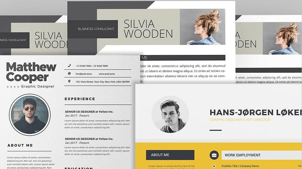 Top 25 Templates for Your Professional Resume