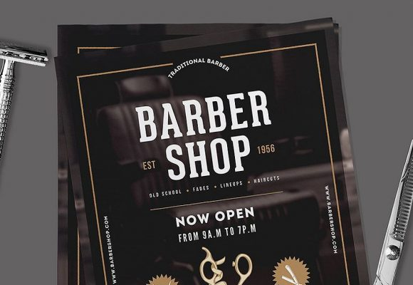 20+ Stylish Barbershop Flyer Templates
