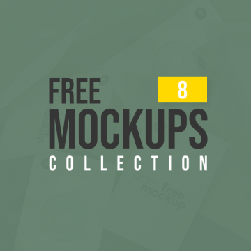 Latest Free Mockup Templates Collection | 8