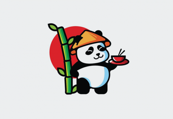 30+ Cool Panda Logo Templates for Funny Branding