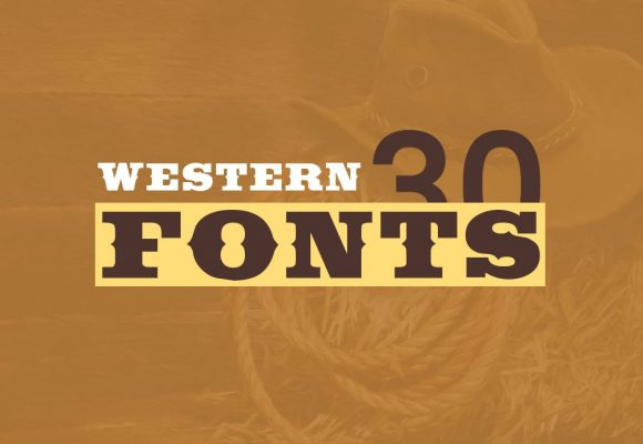 30+ Most Wanted Unique Western Fonts