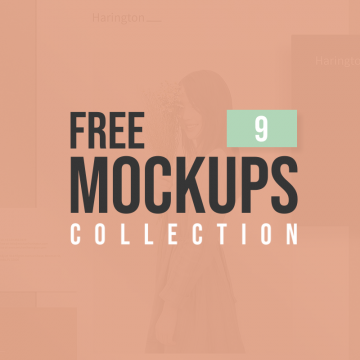 Latest Free Mockup Templates Collection | 9