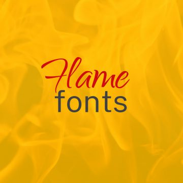10+ Warm Flame Fonts That Make Your Designs Gleaming