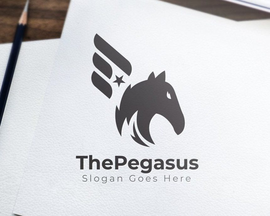 20+ Incredible & Creative Pegasus Logos